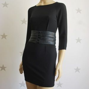 Fendi black dress size 36